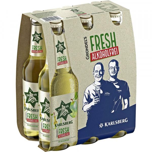 Alkoholfreies Biermischgetränk(4 Sixpacks in der Kiste zu je 6 x 0.33 Liter)