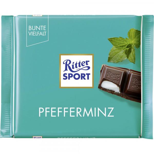 Tafelschokolade, Pfefferminz