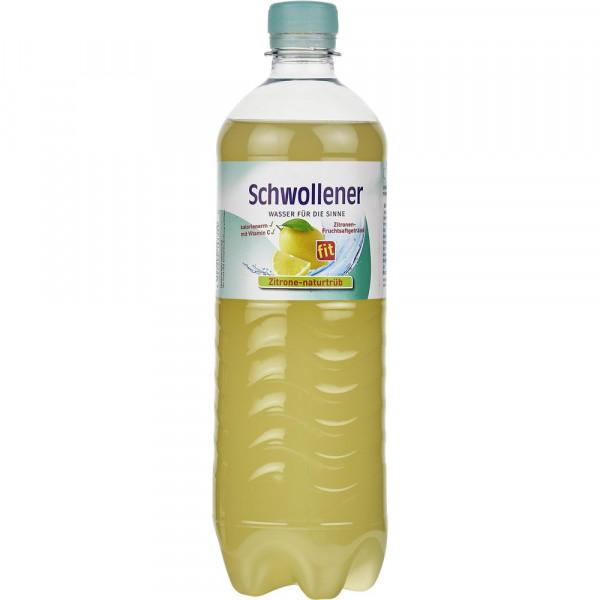 Fit Zitronen Limonade, naturtrüb