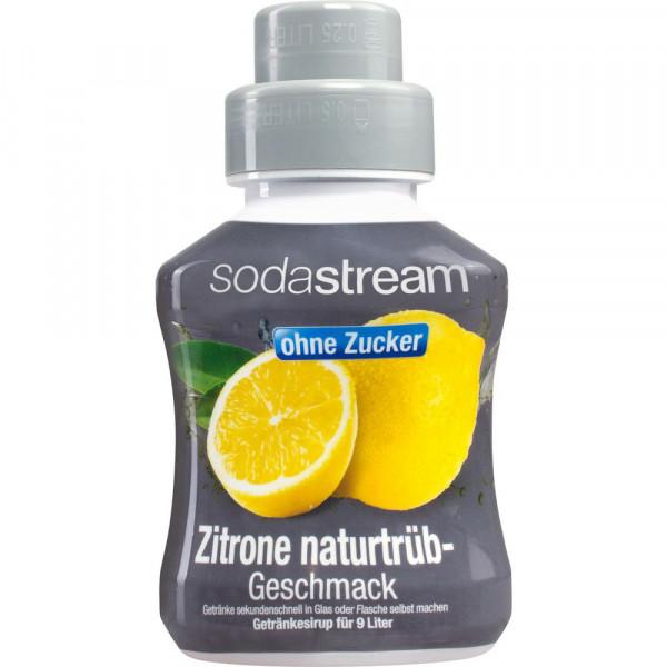 Zitrone naturtrüb, zuckerfrei