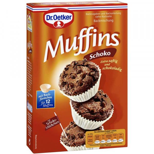 "Backmischung ""Kleine Backidee"", Schoko-Muffins"