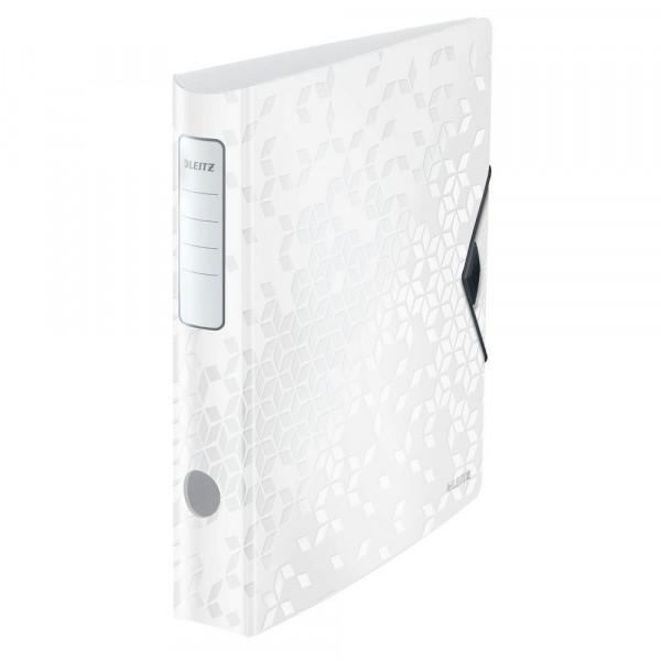 Ordner, weiß, Kunststoff, 6,5 cm, DIN A4