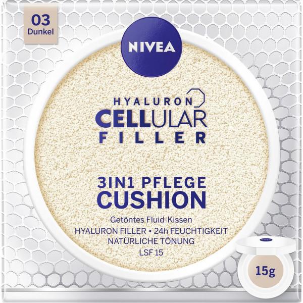 Hyaluron Cellular Filler 3 in 1 Pflege Cushion, Dunkel 03