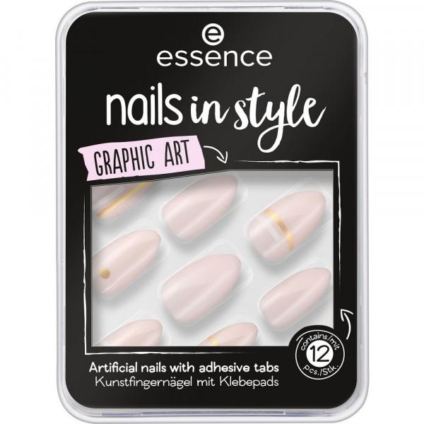 Kunstnägel Nails in Style, GRaphic Art 09