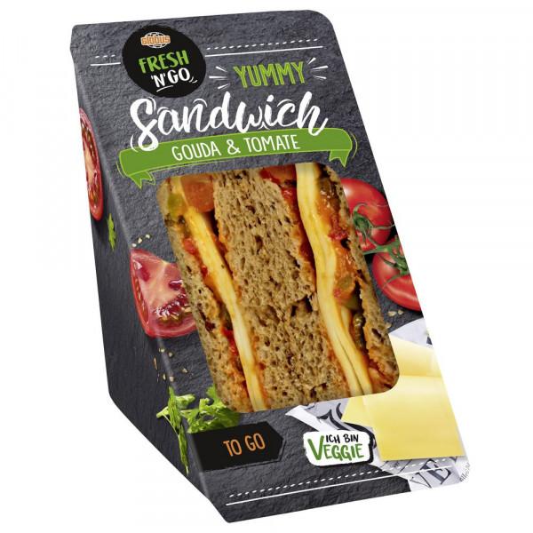 Sandwich Gouda-Tomate
