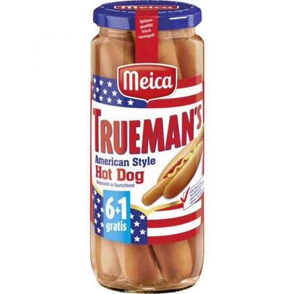 Trueman's American Style Hot Dog Würstchen