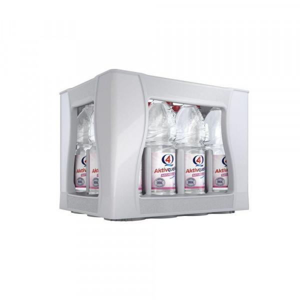 Q4 Aktivquelle Mineralwasser, Naturelle (12 x 1 Liter)