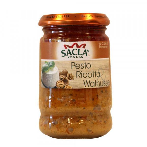 Pesto, Ricotta & Walnüsse