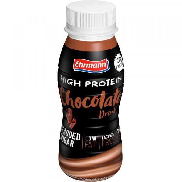 High Protein-Drink, Schoko