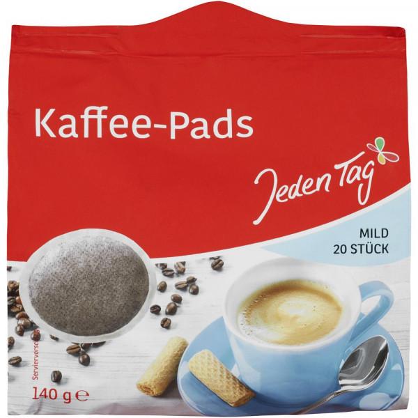Kaffee Pads, Mild