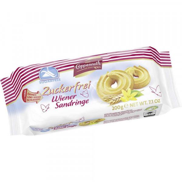"""Cookies """"Wiener Sandringe"""" zuckerfrei"""
