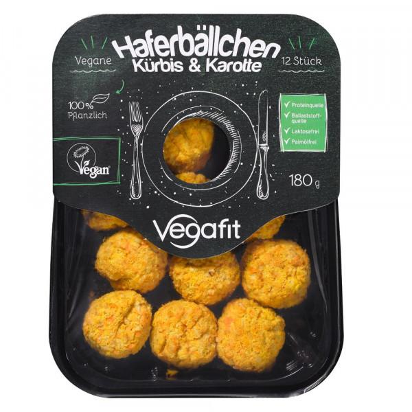 Haferbällchen Kürbis Karotte, vegan 180g
