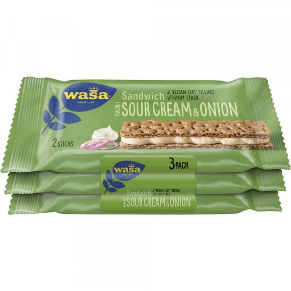 Knäckebrot Sandwich, Sour Cream & Onion