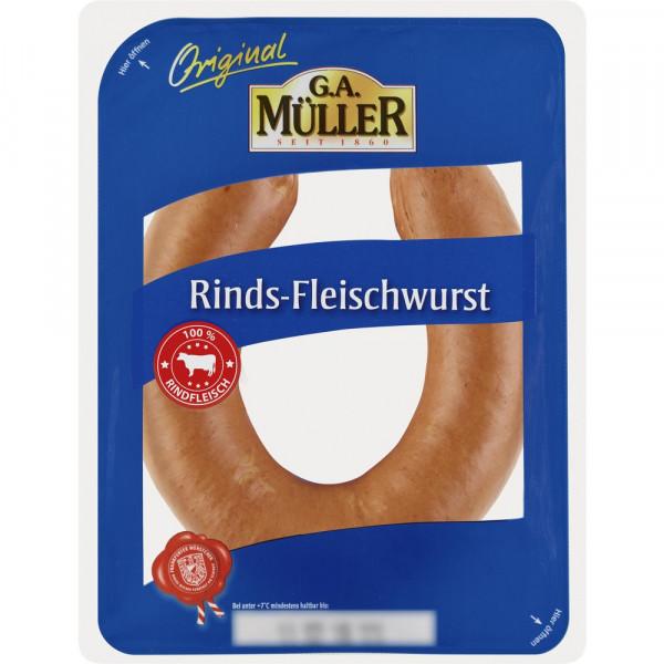 Rinds-Fleischwurst
