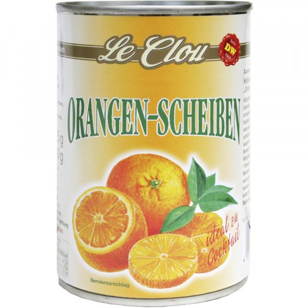 Orangen, in Scheiben