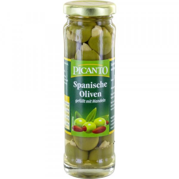 Oliven mit Mandeln gefüllt