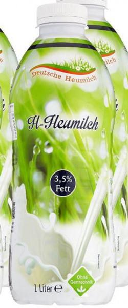 Frische Heumilch 3,5% Fett, länger haltbar