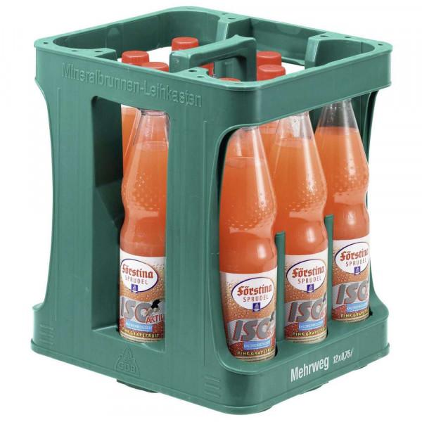 Iso Aktiv, Pink Grapefruit (12 x 0.75 Liter)