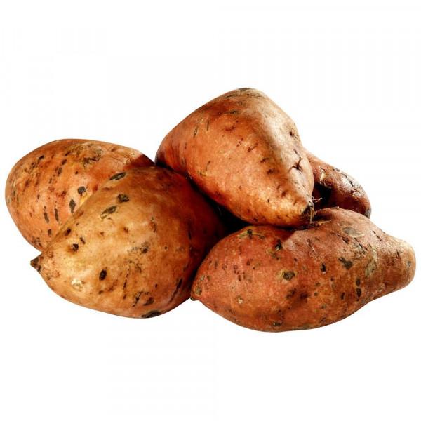 Bio Süßkartoffeln, Schale