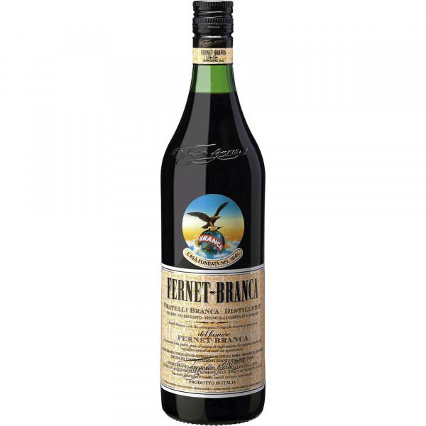 Kräuterlikör Fernet Branca 39%