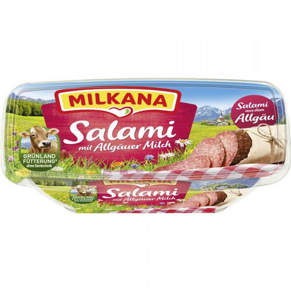 Schmelzkäse, Salami