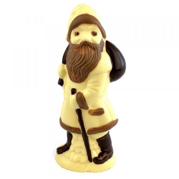 Schokoladen-Nikolaus, weiß