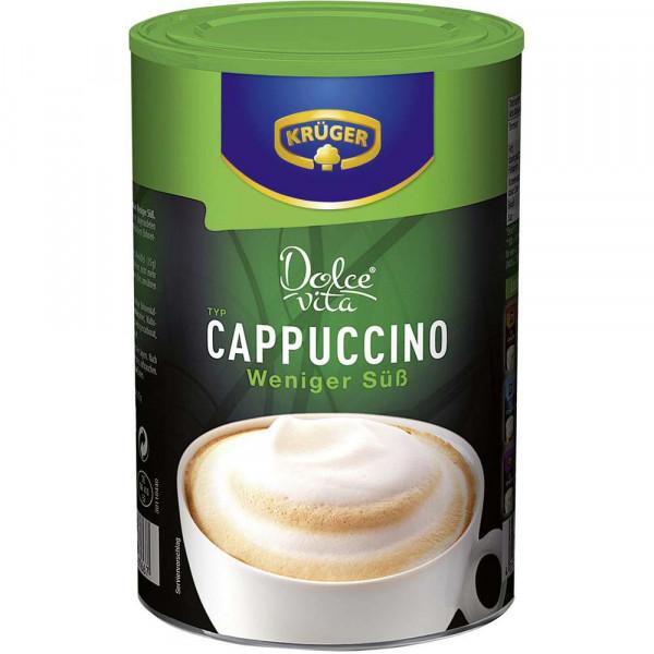 Creme Cappuccino, weniger süß