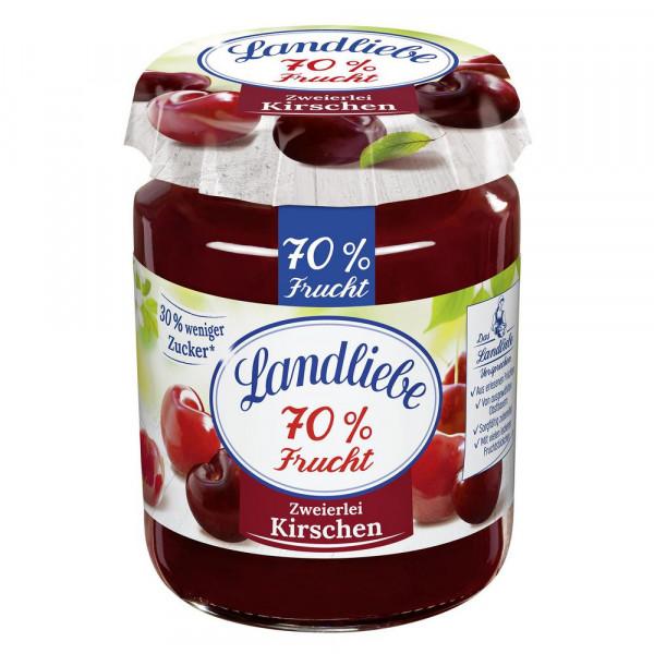 """Fruchtaufstrich """"70% Frucht"""", Kirsche"""