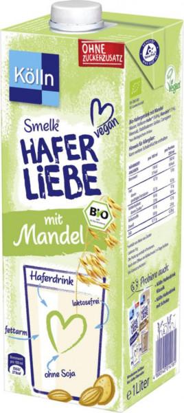 """Bio Haferdrink """"Mandel"""", 0,7% Fett"""