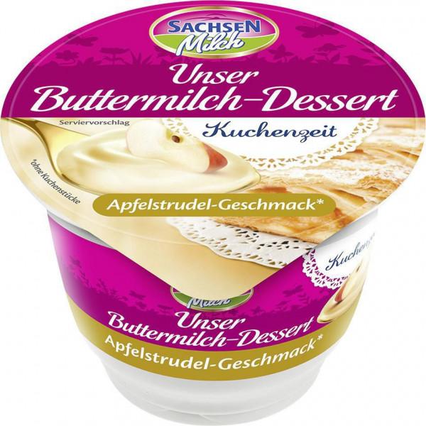 Buttermilchdessert, Apfelstrudel