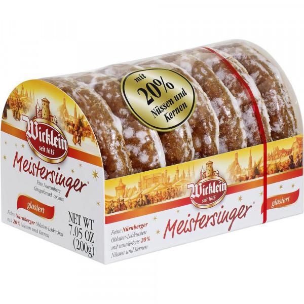 """Oblaten-Lebkuchen """"Meistersinger"""", glasiert"""