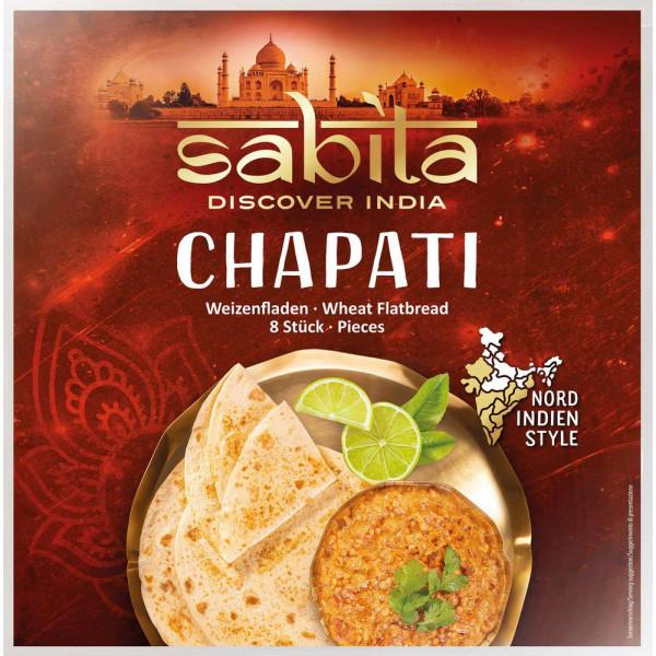 Chapati Weizenfladen