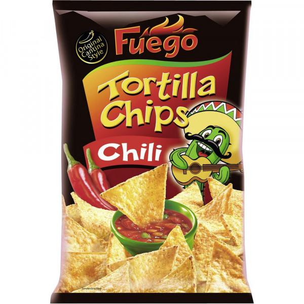 Tortilla Chips, Chili