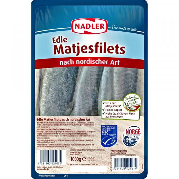Matjesfilets, nordische Art