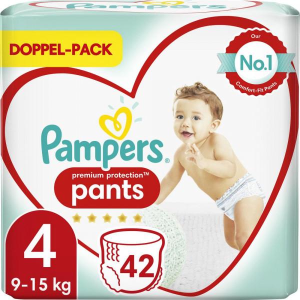 Windeln Premium Protection Pants Gr. 4, 9-15kg Doppelpack