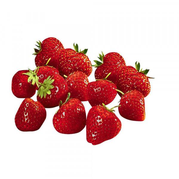 Erdbeeren, Schale