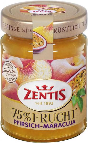 Fruchtaufstrich 75% Frucht, Pfirsisch-Maracuja