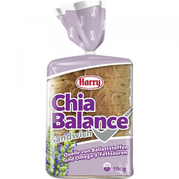 Chia Balance, Sandwich-Toastbrot