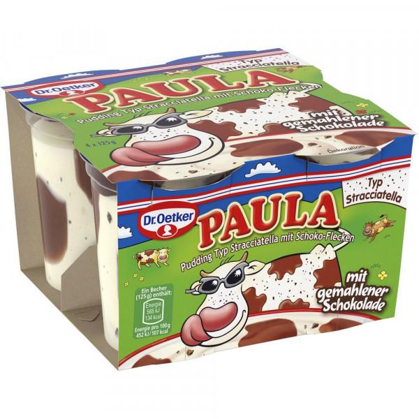 "Pudding ""Paula"", Stracciatella mit Schoko"