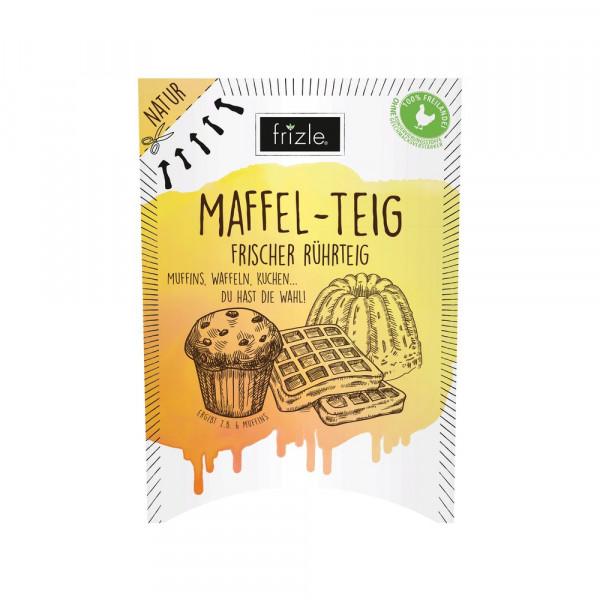 Maffel-Teig, frischer Rührteig