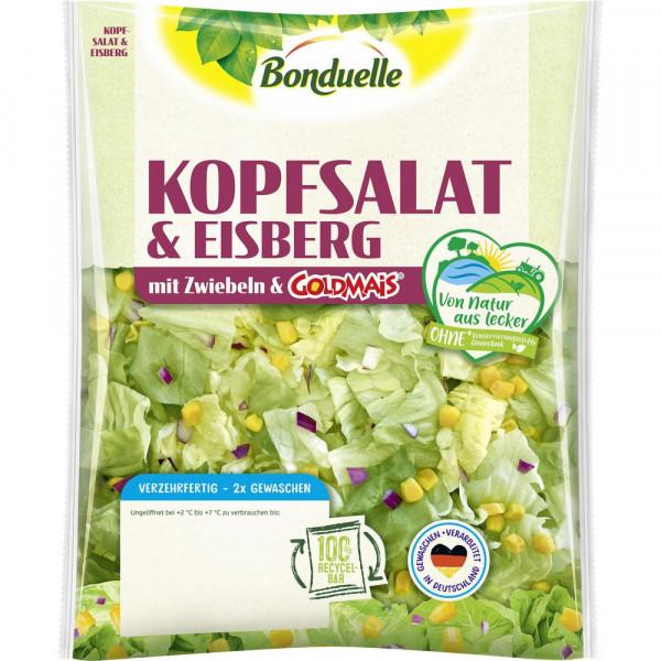 Kopfsalat & Eisbergsalat, knackig/süß