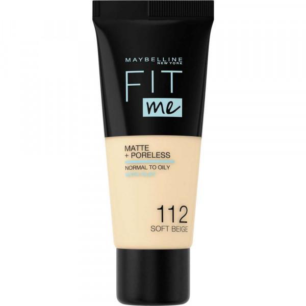 Make-Up Fit Me Matte + Poreless, Soft Beige 112