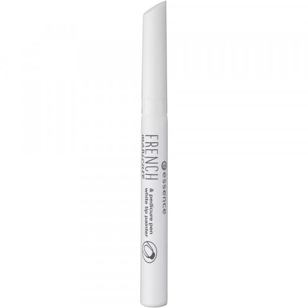 Nageldesign French Manicure & Pedicure Pen, White 01