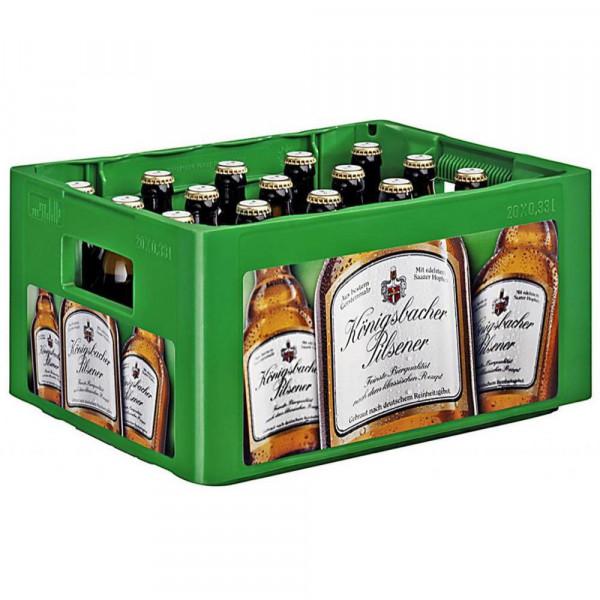Pilsener Bier 4,8% (20 x 0.33 Liter)