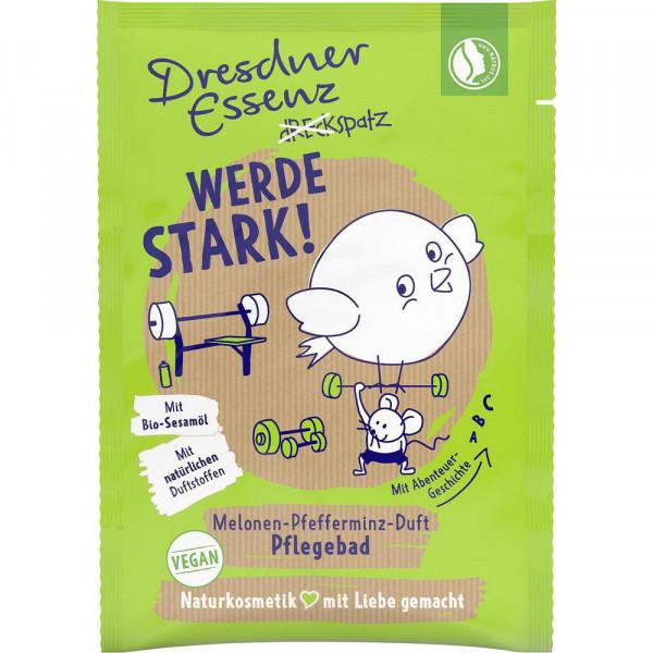 """Badezusatz """"Werde stark"""", Melonen-Pfefferminz"""