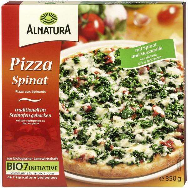 Pizza Spinat, tiefgekühlt