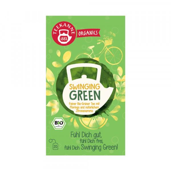 BIO Organics Swinging Green Tee
