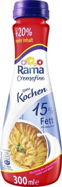 """Sahne Cremefine """"Zum Kochen"""" 15% Fett + 20%"""