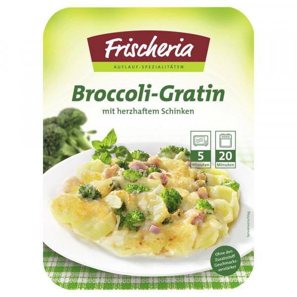 Broccoli-Gratin mit Schinken