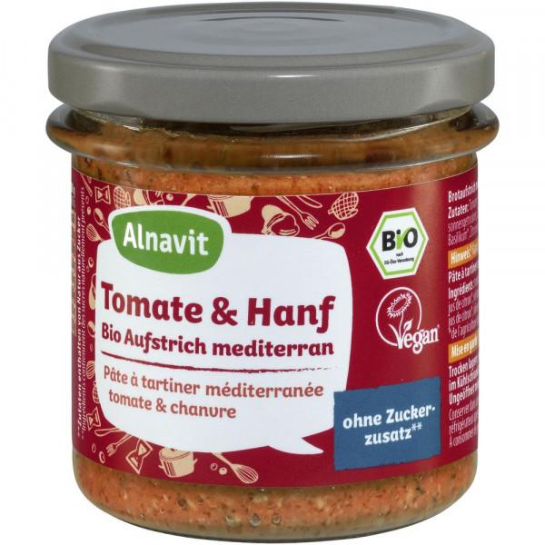 Bio Aufstrich mediterran, Tomate & Hanf